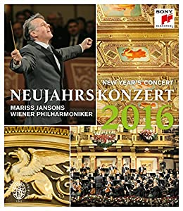 Year's Concert: 2016 - Wiener Philharmoniker (Jansons) [Blu-ray] from Sony Classical