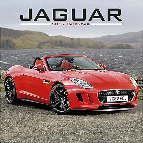Jaguar 2017 Wall Calendar