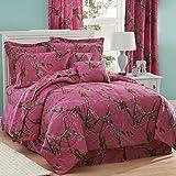 Kimlor Mills Realtree APC Comforter Set, Full, Fuchsia
