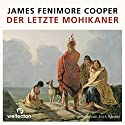 Der letzte Mohikaner Audiobook by James Fenimore Cooper Narrated by Erich Räuker