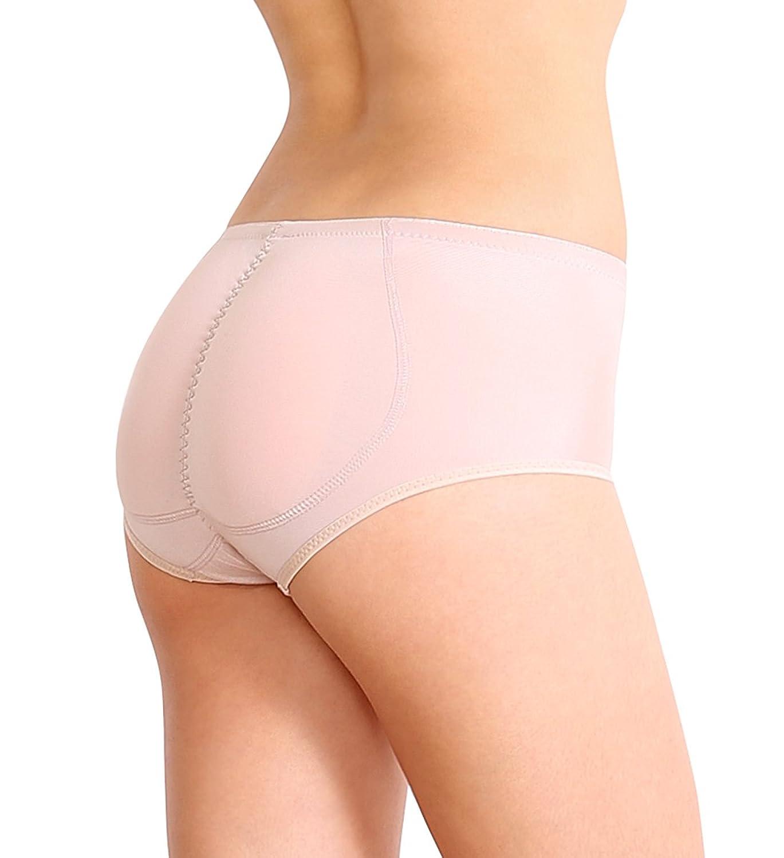 STIL NO.3 - SODACODA Push Up Unterhose mit dickeren Silikon Einlagen für den Po in schwarz und beige - Formt einen perfekten runden Knackpo!!