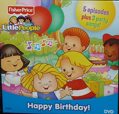 Fisher Price Little People HAPPY BIRTHDAY DVD (5 Episodes) - 1