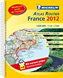echange, troc Collectif Michelin - Atlas France Routier 2012 spirale