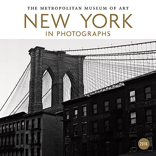2016 - New York in Photographs 2016 Mini Wall Calendar: Metropolitan Museum of Art (Abrams Calendars)