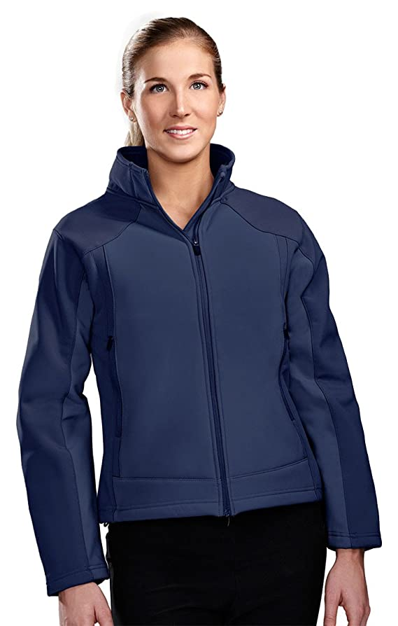 Tri-Mountain Women 3-layer windproof water resistant soft shell jacket