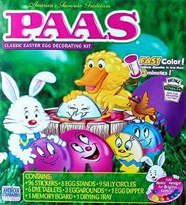 PAAS Friends Egg Decorating Kit, Medium