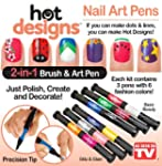 6 Color Starter Kit Hot Design Nail A...