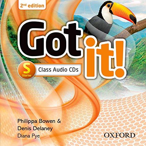 Got it!: Starter: Class Audio CD (2 Discs)