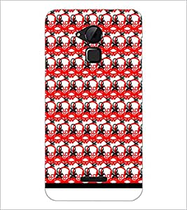 PrintDhaba Skull Pattern D-1025 Back Case Cover for COOLPAD NOTE 3 LITE (Multi-Coloured)