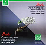 Marie-Claire Alain Bach: Organ Masterpieces