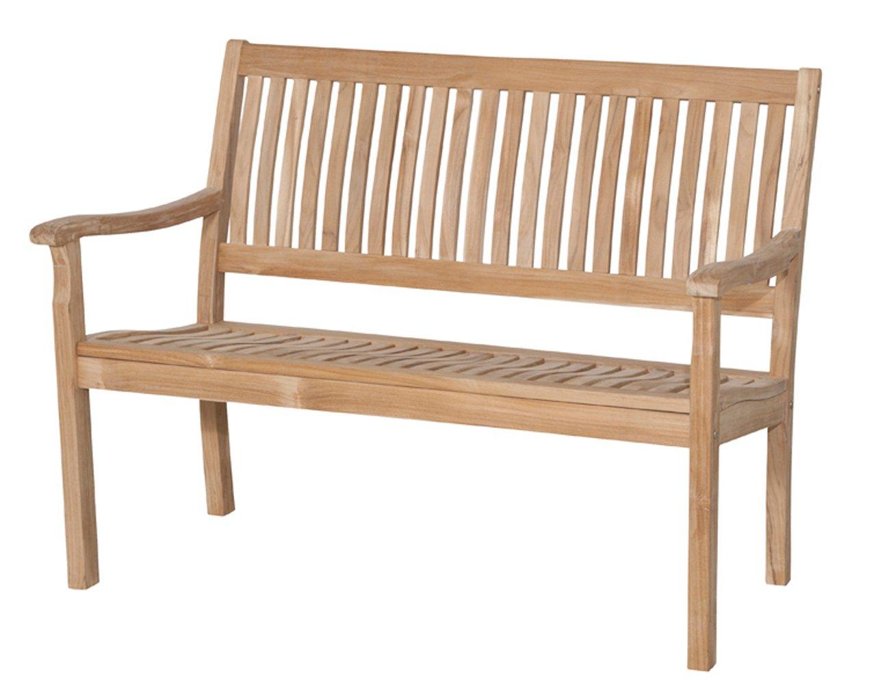 Siena Garden 672866 2er Bank Newport Teakholz FSC® 100% Beschläge aus galvanisiertem Stahl günstig bestellen