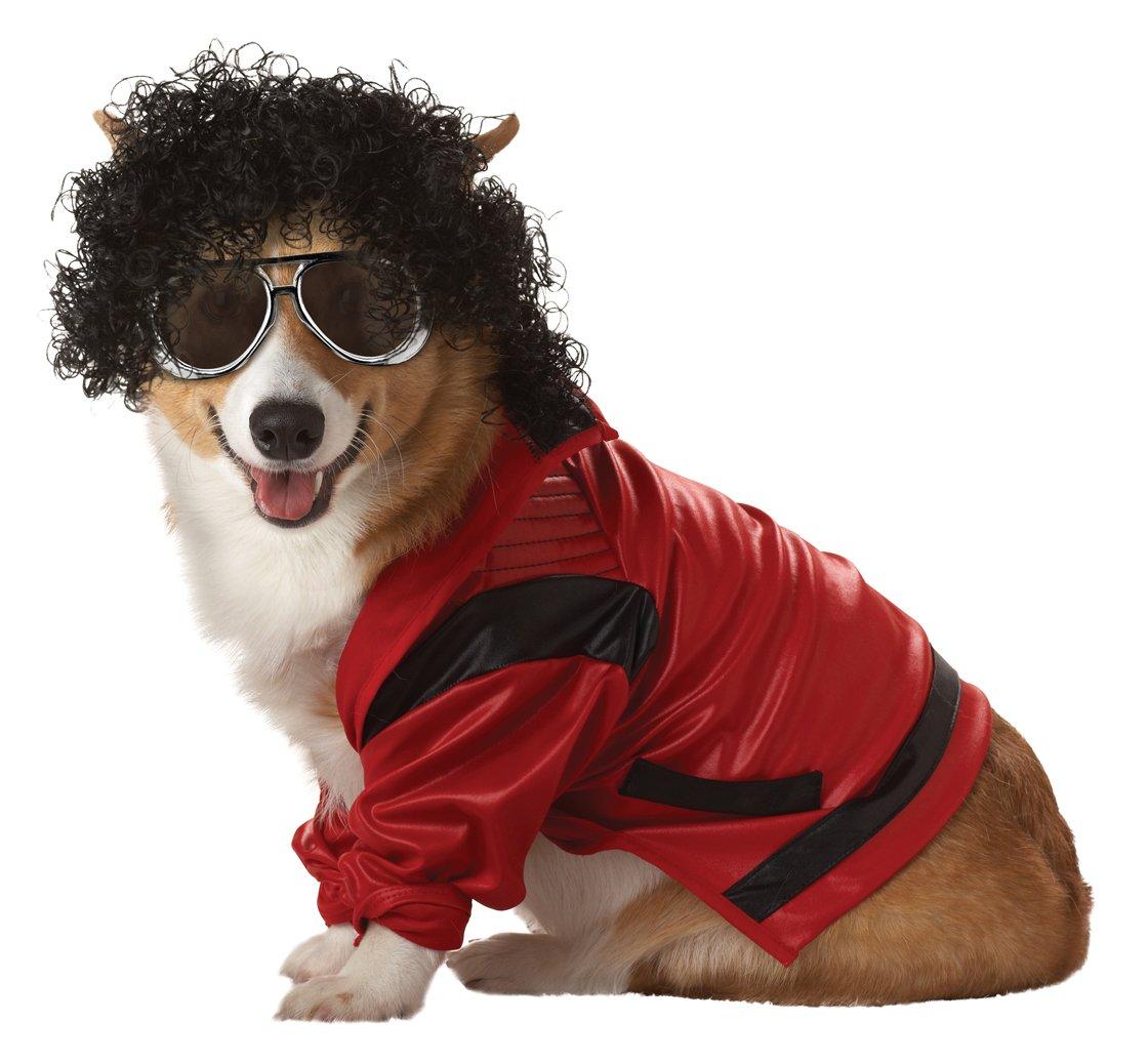 Amazon.com : Pup-A-Razzi Pop King Dog Costume, Small, Red/Black : Pet Costumes