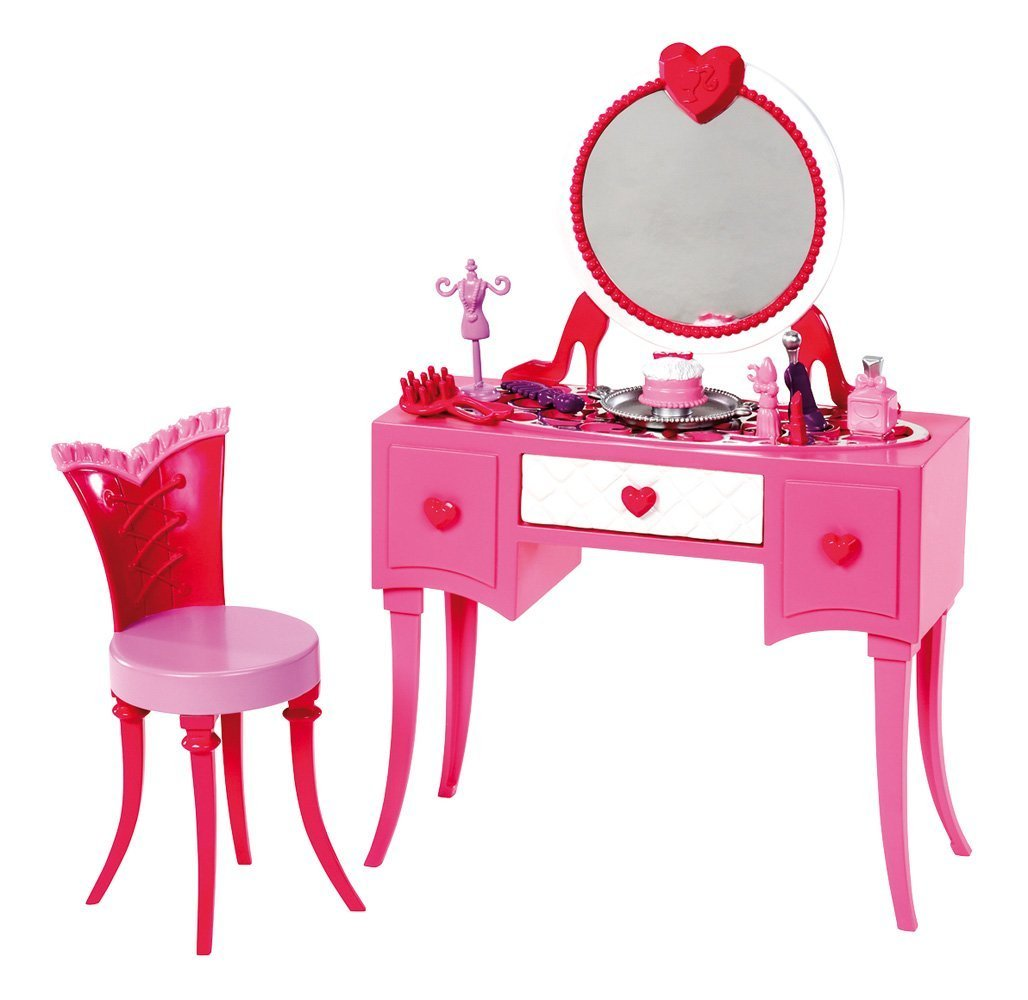 Barbie Glam Vanity Furniture Set