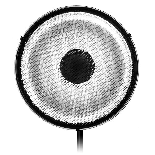 Fotodiox Pro Beauty Dish 18 (48cm) kit with honeycomb Grid (50 degree), for Speedotron Black Line 202VF, 206VF, 102, 103, 105, Brown line MW3R, MW3U, MW3UQ, M90, M90Q, M11 Strobe Flash Light, Beautydish bsm300ga170dls power module igbt freeshipping