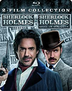 Sherlock Holmes & Sherlock Holmes: Spiel im Schatten Steelbook (Exklusiv bei Amazon.de) [Blu-ray]