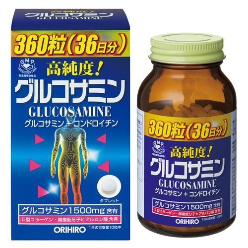 オリヒロ 高純度グルコサミン粒 360粒