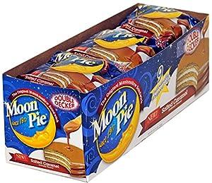 Moon Pie Double Decker - Salted Caramel: Amazon.com: Grocery & Gourmet ...