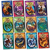 Adam Blade Beast Quest Collection Series 1 & 2 12 Books Collection Pack Set (Arcta the Mountain Giant, Epos the Flame Bird, Ferno the Fire Dragon, Nanook the Snow Monster, Sepron the Sea Serpent, Tagus the Horse-man, Trillion the Three-headed & More...)