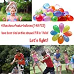Water Balloons Fill in 60 Seconds Wat...