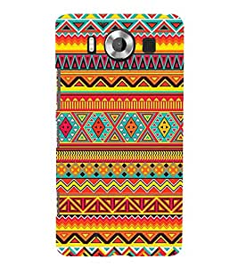Waves Pattern 3D Hard Polycarbonate Designer Back Case Cover for Nokia Lumia 950 :: Microsoft Lumia 950