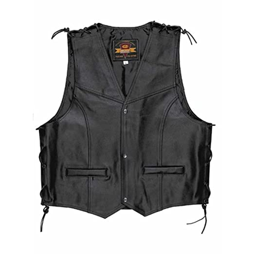 Held Patch Gilet en cuir