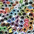 Bulk Lot of 20 10mm Random Overstock Glass Eyes (10 Matching Pairs)