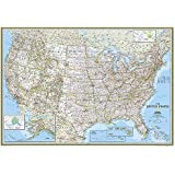 United States Classic [Enlarged and Tubed] (National Geographic Reference Map)