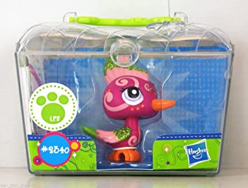 Littlest Pet Shop 2340 OISEAU PIVERT SPARKLE WOODPECKER SCINTILLANT SPARKLE