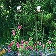 P�tschke Ambiente Lichtkugel-Obelisken, 2er-Set