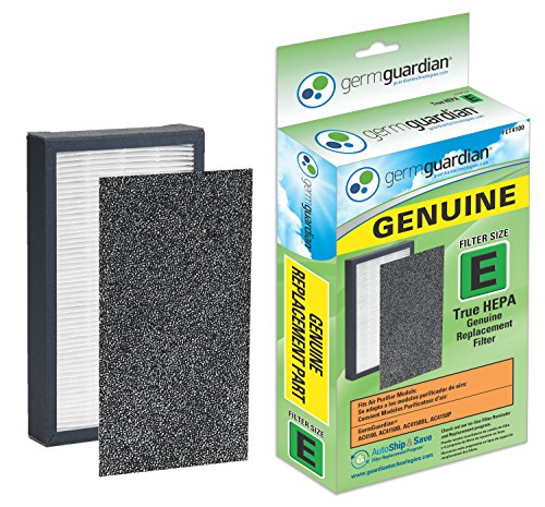 GermGuardian FLT4100 GENUINE HEPA Replacement Filter E for AC4100 Air Purifier (Germ Guardian Sterilizer compare prices)