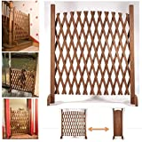 ProBache - Barriere bois extensible 30 à 150 cm