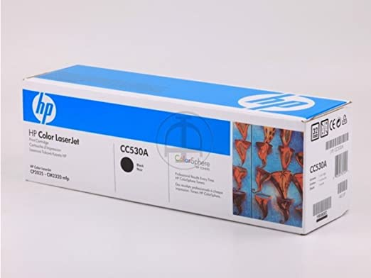 HP - Hewlett Packard Color LaserJet CP 2000 Series (304A / CC 530 A) - original - Toner black - 3.500 Pages