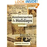 Anniversaries and Holidays