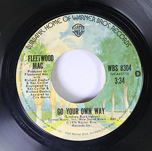 Fleetwood Mac 45 RPM Go Your Own Way / Silver Springs (Fleetwood Mac 45 Rpm compare prices)