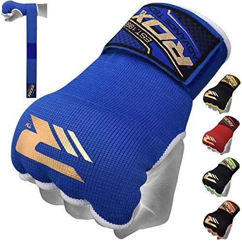 RDX Training Boxing Inner Gloves Hand Wraps MMA Fist Protector Bandages Mitts (Boxing Wraps compare prices)