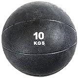 VIRTUOUS Unisex Rubber Medicine Ball 10000 gm Black