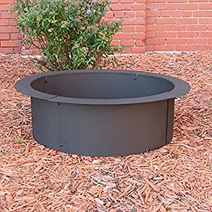 Sunnydaze Heavy Duty Fire Pit Rim, Make