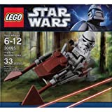 61rZHVj4H8L. SL160  LEGO STAR WARS 30005 IMPERIAL SPEEDER BIKE BAGGED