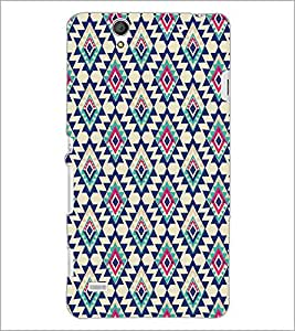 SONY XPERIA C4 DIAMOND PATTERN Designer Back Cover Case By PRINTSWAG