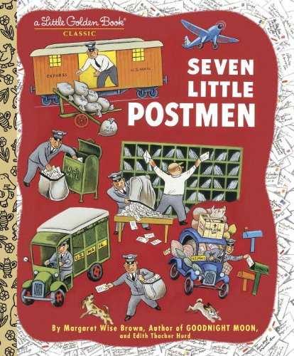 Seven Little Postmen (A Little Golden Book)
