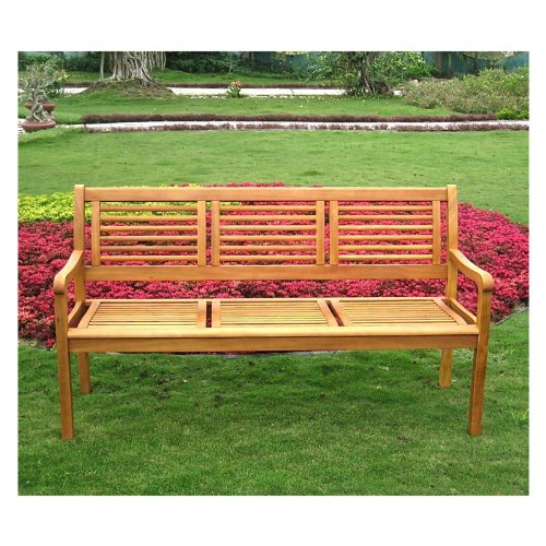 International Caravan Royal Tahiti Patio Bench