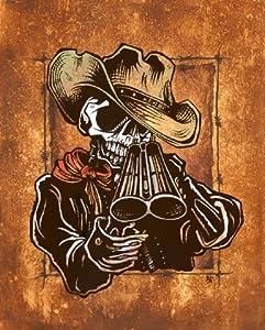 Western Skeleton Cowbo...