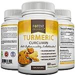 Potent Organics Turmeric Curcumin - 6...