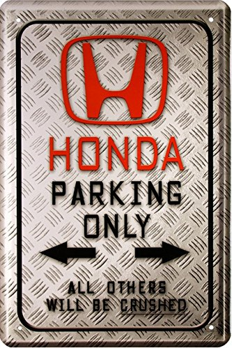 honda-parking-only-auto-car-motorrad-bike-20x30-cm-blechschild-1588