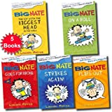 Lincoln Peirce Big Nate Series Collection Lincoln Peirce 5 Books Set (Big Nate Strikes Again, Big Nate Goes For Broke, Big Nate on a Roll, Big Nate The Boy With the Biggest Head in the World, Big Nate Flips Out)