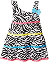 Youngland Baby-Girls Infant Zebra Dress