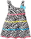 Youngland Baby-Girls Infant Zebra Dress