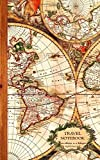 SmART bookx Travel Notebook: Gifts / Gift / Presents ( Ruled Traveler's Notebook with Antique Map Cover ) (Travel & World Cultures)