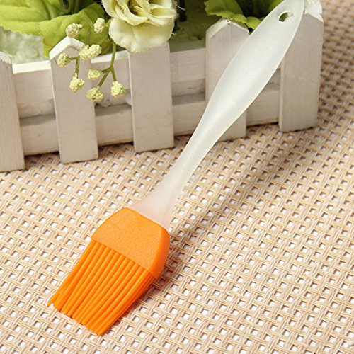 17.5Cm Silicone Barbeque Brush Grill Brush Bbq Supplies front-140914