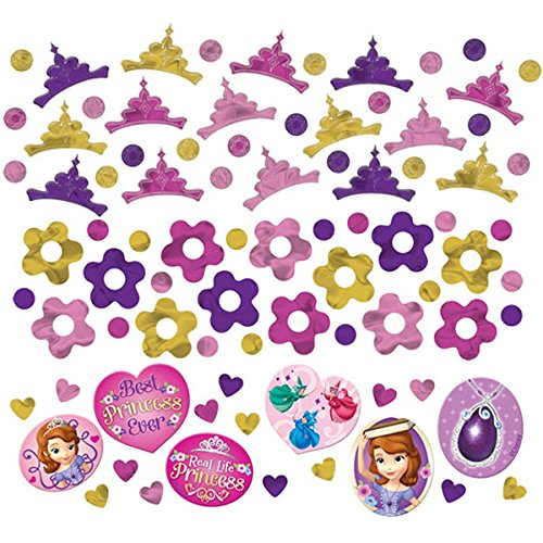 Sofia The First Foil Confetti Value Pack
